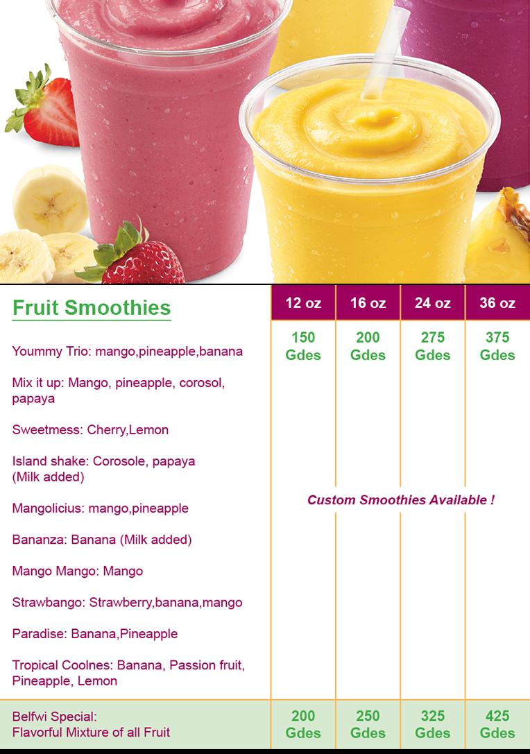 juices wild menu